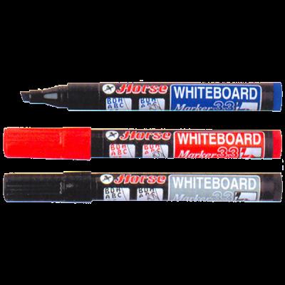 Bút lông bảng H-33 1 đầu đỏ (hộp 10 cây)