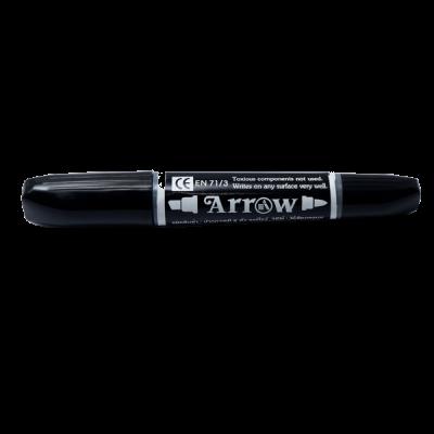 Bút lông dầu Arrow 2 đầu đen