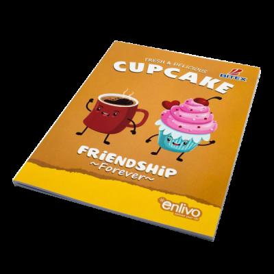 Tập học sinh Food - Cupcake
