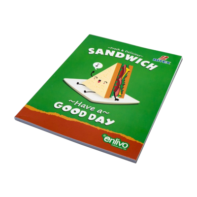 Tập học sinh Food - Sandwich