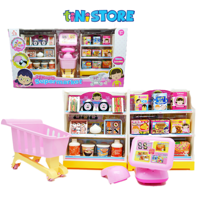 Bộ đồ chơi siêu thị mini cho bé