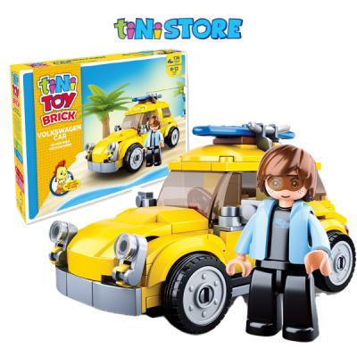 PICA - Đồ chơi lắp ráp xe hơi hiệu Volkswagen TINITOY (176pcs)