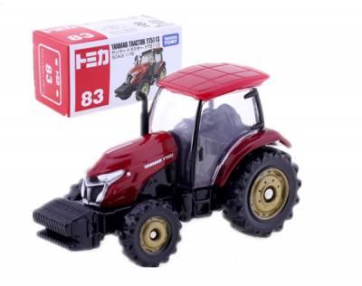 Xe hơi Tomica No.83 Yanmar Tractor YT5113 không động cơ