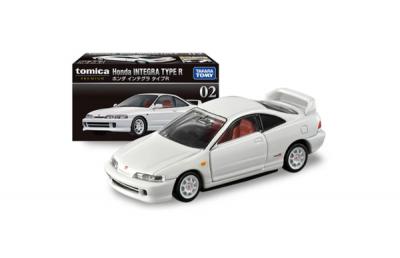 Xe hơi Tomica TP 02 Honda INTEGRA TYPE R không động cơ