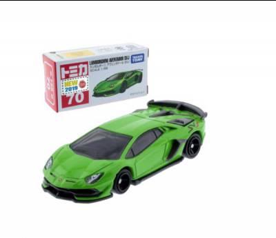 Xe hơi Tomica No.070-06 Lamborghini (box) không động cơ
