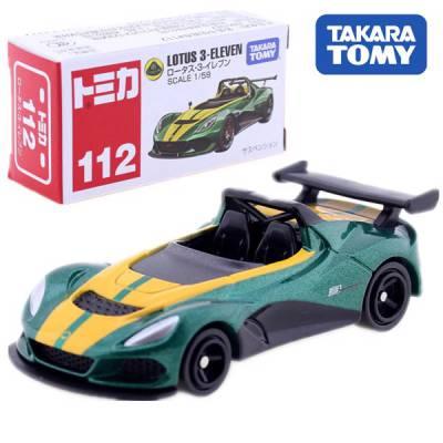 Xe hơi Tomica 112-8  kiểu  Lotus 3-Eleven (BOX)