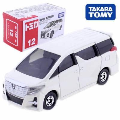 Xe hơi Tomica Số 12  kiểu xe Toyota Alphard