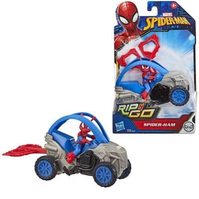 Đồ chơi người nhện thần tốc Spiderman Rip N Go