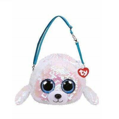 Túi xách thời trang chú chó Icy sequin TY