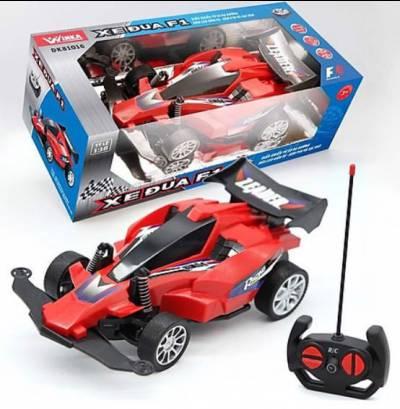 Xe đua F1- Điều khiển từ xa, có ánh sáng, kèm pin và sạc USB (màu đỏ)