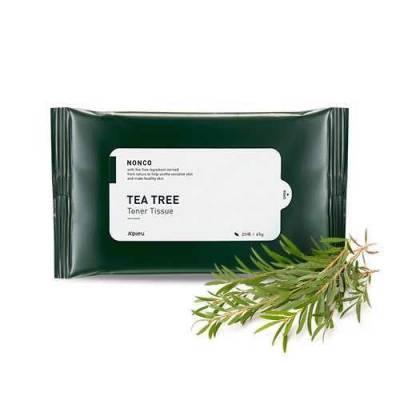 Khăn Giấy Dưỡng Da A'PIEU NONCO TEA TREE TONER TISSUE