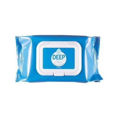 Khăn Giấy Tẩy Trang A'PIEU DEEP CLEAN CLEANSING TISSUE (25pcs)