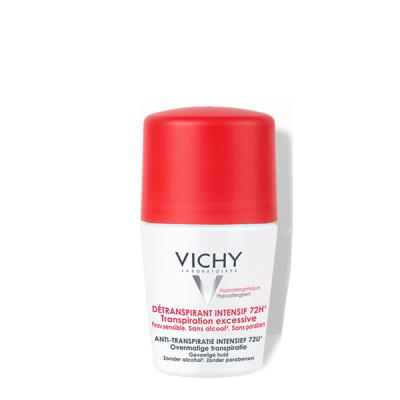 Lăn Khử Mùi VICHY DÉTRANSPIRANT INTENSIF 72H TRANSPIRATION EXCESSIVE 50ml