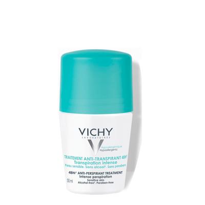 Lăn Khử Mùi VICHY TRAITEMENT ANTI-TRANSPIRANT 48H 50ml