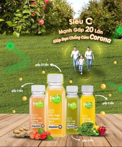 Combo Corona 4 : Tăng cường miễn dịch mạnh gấp 20-40 lần