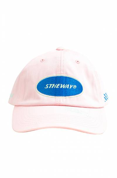 /oval/ UNSTRUCTURE WASHED DAD CAP™ - CRYSTAL ROSE