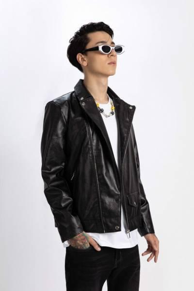 Áo Khoác Da Biker ICON DENIM Leather Jacket