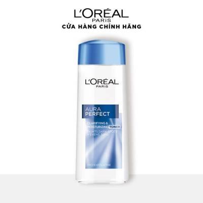 Nước hoa hồng se khít lỗ chân lông và trắng mịn da L'Oréal Paris White/ Aura Perfect 200ml