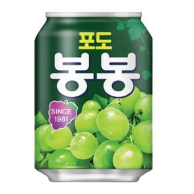 Nước ép nho Haital Hàn Quốc lon 238ml
