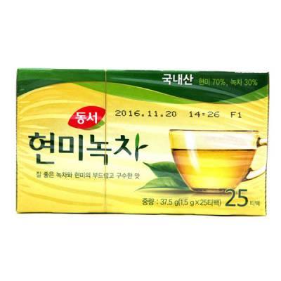 Trà xanh gạo lứt túi lọc Dongsuh Hàn Quốc (1.5gr*25pcs)