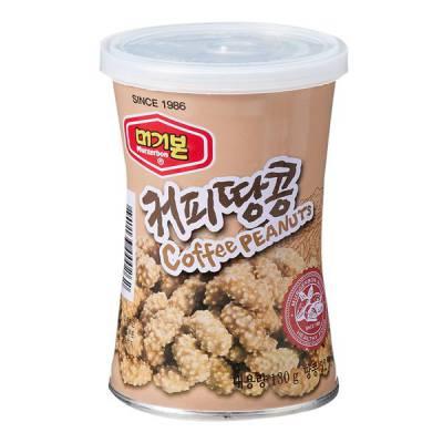 Đậu phộng vị cà phê Murgerbon Hàn Quốc hộp 130gr