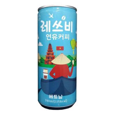 Cà phê sữa Vietnam Letsbe Lotte Hàn Quốc 240ml