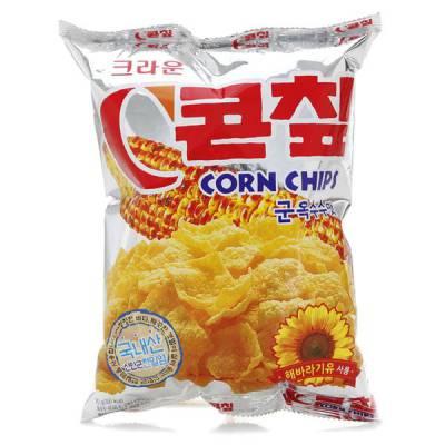 Bánh Snack vị bắp nướng Crown Hàn Quốc 70gr