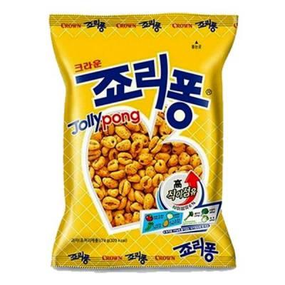 Bánh Snack hương lúa mạch Jollypong Hàn Quốc 74gr