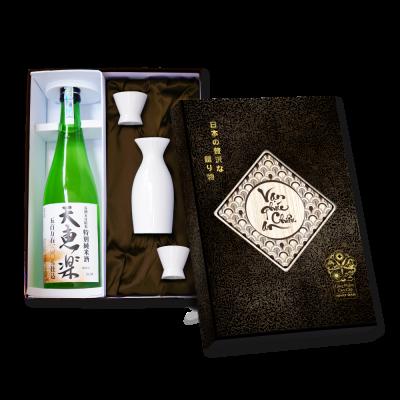 Combo Sake Tokubetsu Junmai Tenkeiraku White Label 720mlcung cấp bởi Tenkeiraku