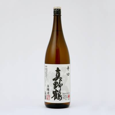 Rượu Sake Honjozo Manotsuru Karakuchi Tsuru 1800mlcung cấp bởi Manotsuru