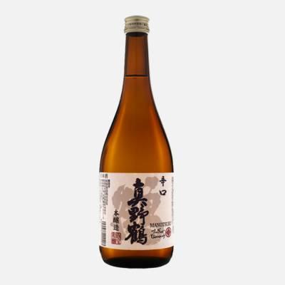 Rượu Sake Honjozo Manotsuru Karakuchi Tsuru 720mlcung cấp bởi Manotsuru