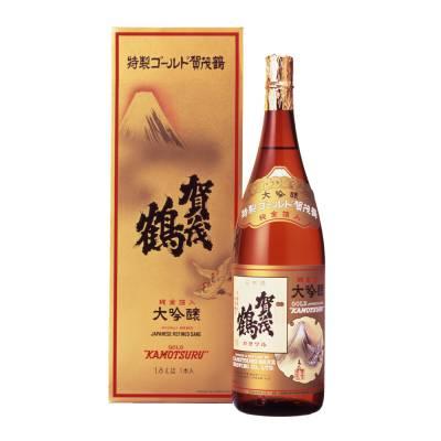 Rượu Sake Kamotsuru Daiginjo Gold 1800mlcung cấp bởi Kamotsuru