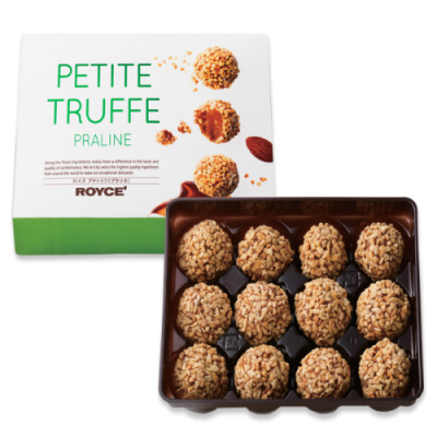 "Royce Nuts Chocolate Pettie Truffle ""Praline""cung cấp bởi Royce' Chocolate"