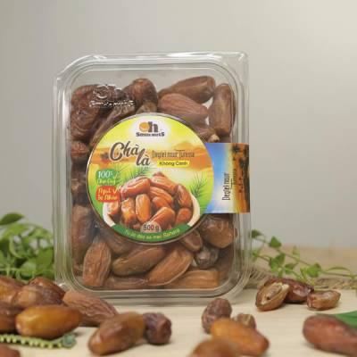 Chà Là Không Cành Deglet Nour Smile Nuts Hộp 500g - Nhập Khẩu Từ Tunisia