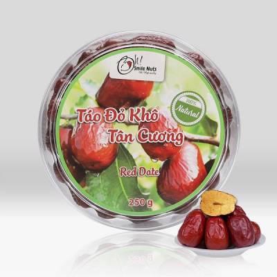 Táo Đỏ khô Tân Cương Smile Nuts Hộp 250g