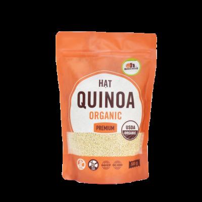 Hạt Quinoa Trắng Hữu Cơ Smile Nuts Túi 500g - Nhập Khẩu Từ Peru