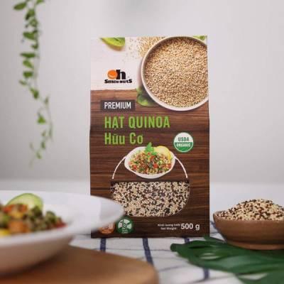 Hạt Diêm Mạch Quinoa Mix Hữu Cơ Smile Nuts Hộp 500g - Nhập Khẩu Từ Peru