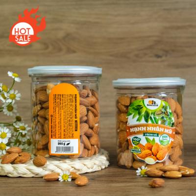 Hạnh Nhân Mỹ Tách Vỏ Nướng Smile Nuts Hộp 265g