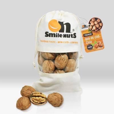Quả Óc Chó Chile Smile Nuts Túi Vải 425g