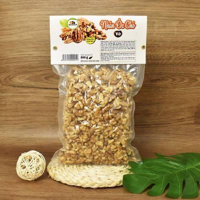 Nhân Óc Chó vụn nấu sữa Smile Nuts gói 500g - Nhập khẩu Chile