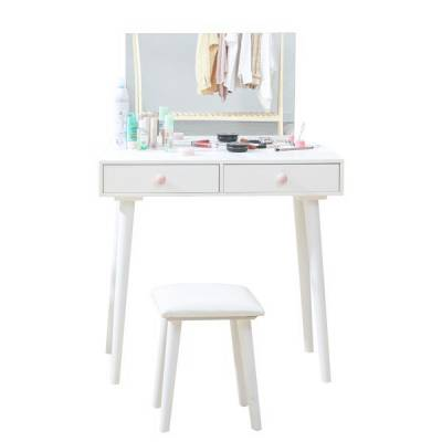 BÀN TRANG ĐIỂM B CHARMING DRESSING TABLE WHITE