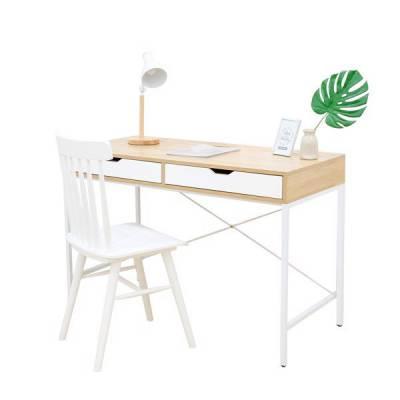 BÀN LÀM VIỆC BEYOURs SQUARE TABLE NATURAL WHITE