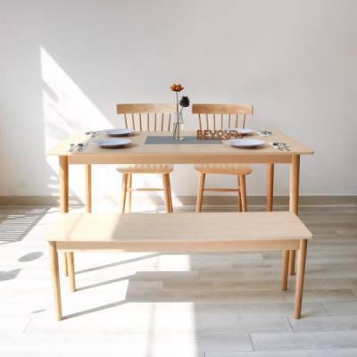 BÀN ĂN NARI DINNER TABLE SIZE M NATURAL