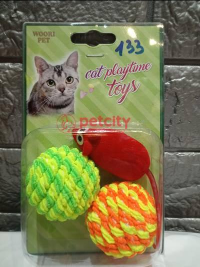 Đồ chơi banh chuột Stripe (cho mèo)