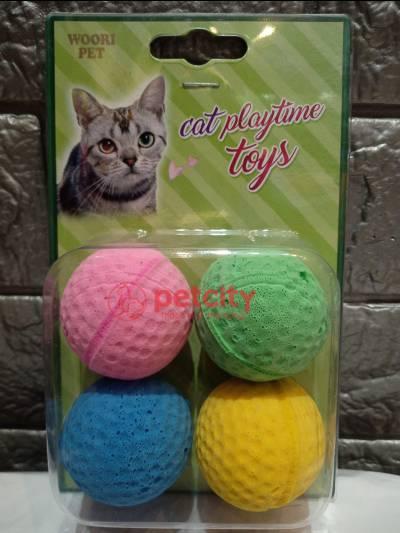 Đồ chơi banh golf (cho mèo)