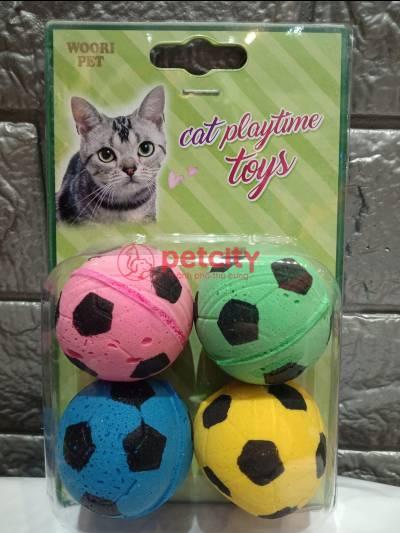 Đồ chơi bóng đá Soccerball (cho mèo)