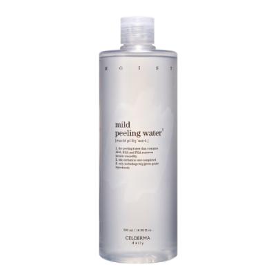 Nước hoa hồng tẩy da chết dịu nhẹ Celderma - Celderma Mild Peeling Water 500ML