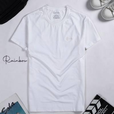 Áo thun T-Shirt basic trơn màu trắng –  01