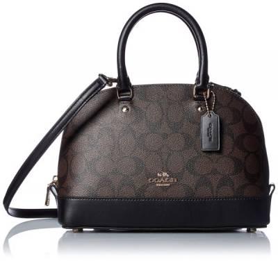 Túi xách nữ Coach shoulder bag gold BlackF58295- Nhập Mỹ 100%