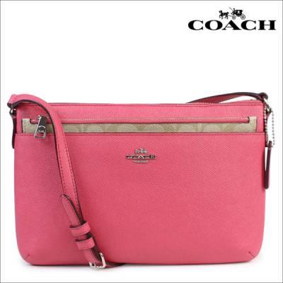 Túi xách thời trang nữ COACH_F57788 (Hồng, Đen)